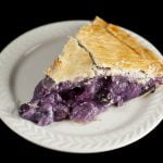 Creamy Blueberry Amaretto Pie