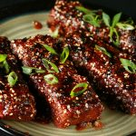 "Vegan Boneless ""Ribs"" in Asian Inspired Sauce"