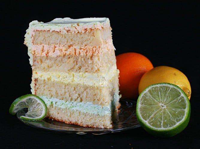 Citrus Splendor Cake