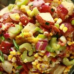 Roasted Corn and Potato Salad