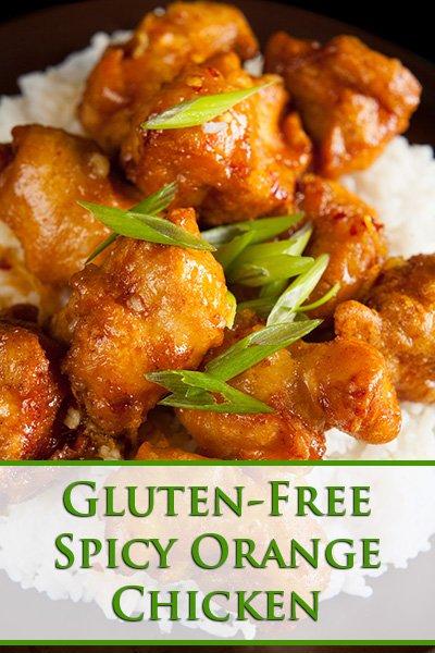 Gluten-Free Spicy Orange Chicken