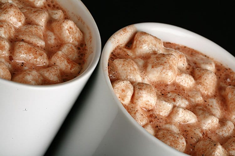 Grownup Hot Chocolate and Hot Cocoa