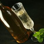 Homemade Mint Wine