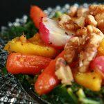 Roasted Radish Salad with Maple Dijon Vinaigrette