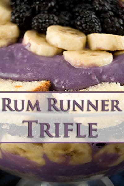 Rum Runner Trifle