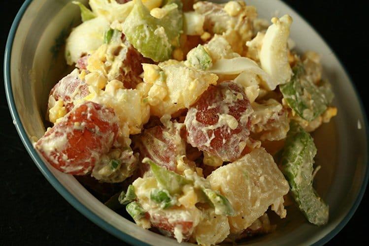 Cold Smoked Potato Salad