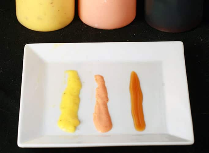 3 Sushi Sauces - Mango, Dynamite, and Eel