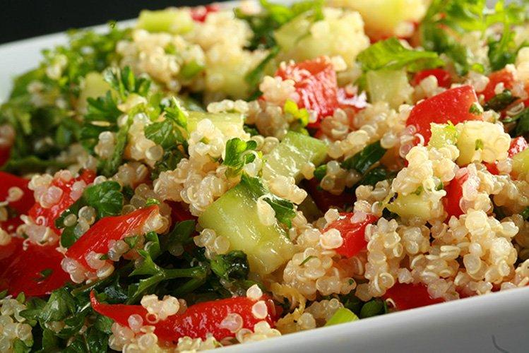 No-Tomato Quinoa Tabbouleh
