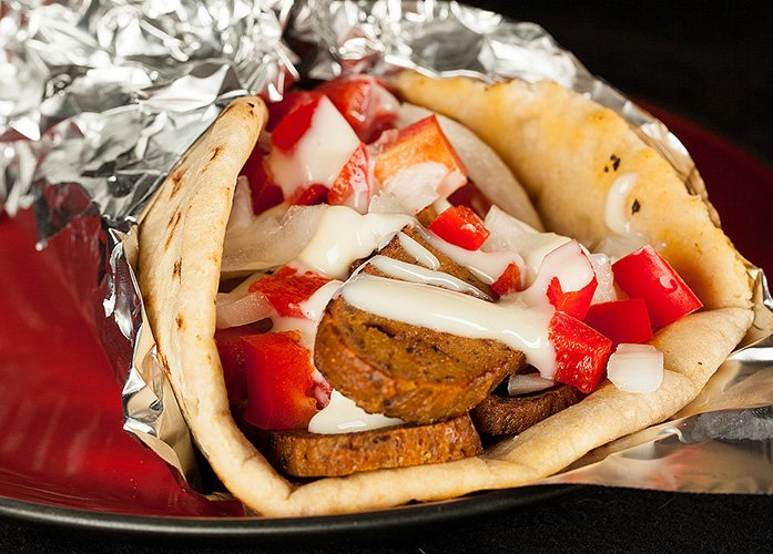 "Vegan Donair ""Meat"""