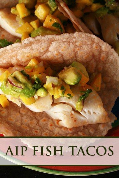 AIP Fish Tacos