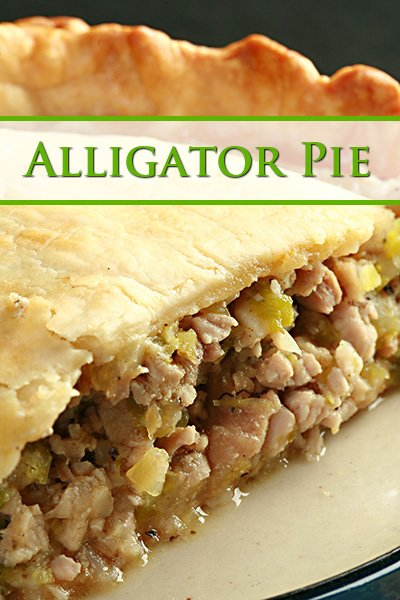 Savoury Alligator Pie