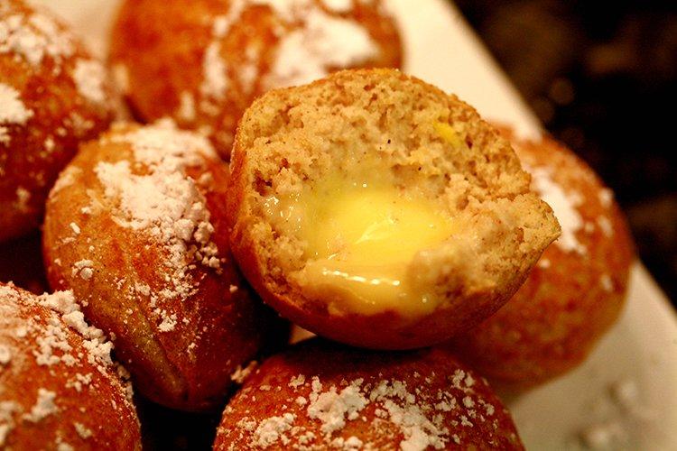 Gluten Free Lemon Mascarpone Ebelskivers