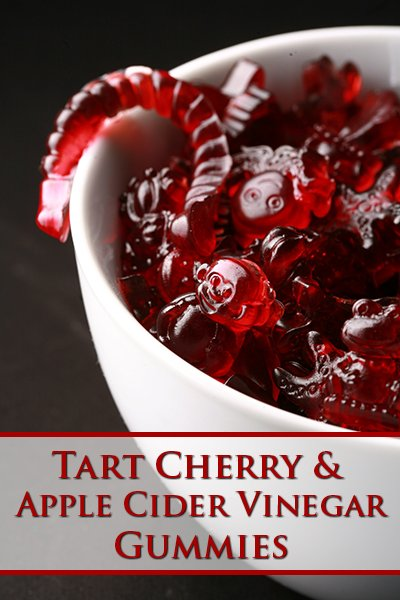 Tart Cherry and Apple Cider Vinegar Gummies