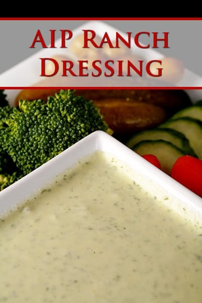 AIP Paleo Ranch Dressing