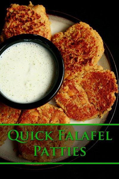 Quick Falafel Patties