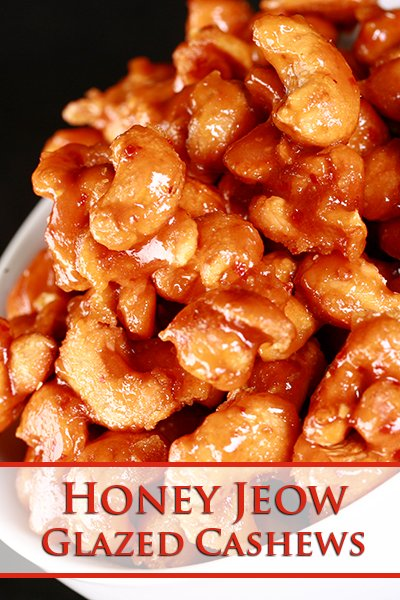 Honey Jeow Glazed Cashews