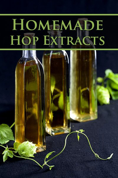 Homemade Hop Extracts
