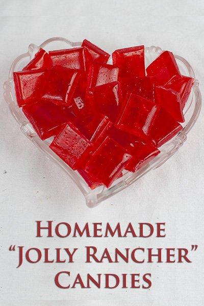 Homemade Jolly Rancher Candies