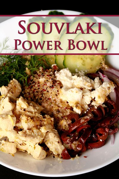 Chicken Souvlaki Power Bowl