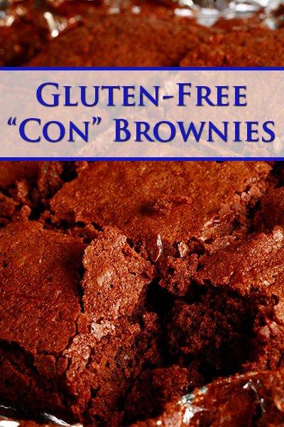 "Gluten-Free ""Convention"" Brownies"