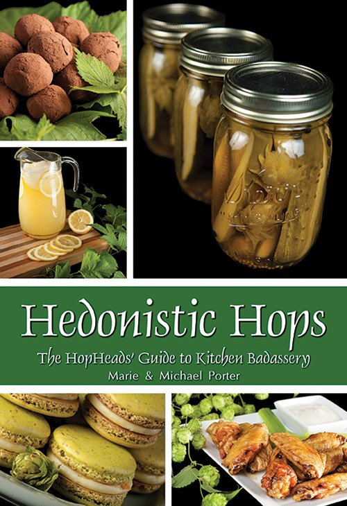Hedonistic Hops cookbook cover