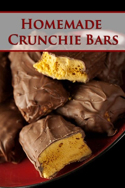 Homemade Crunchie Bars