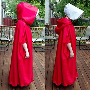 Handmaid's Tale Cloak Pattern - PDF
