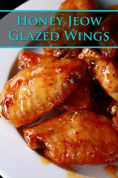 Honey Jeow Glazed Wings