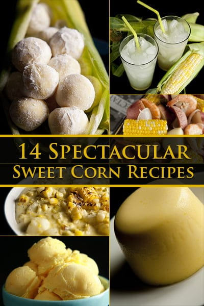 9 Spectacular Sweet Corn Recipes!