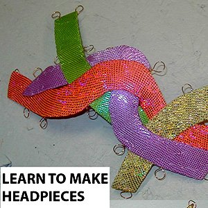 Synchro headpiece and bun cover tutorial