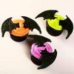 3D Halloween Bat Cupcakes
