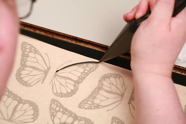 Workspace for 3D Monarch Butterfly Cupcakes