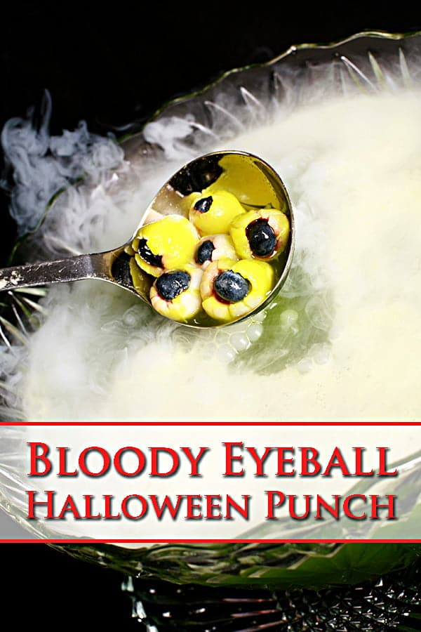 Bloody Eyeball Halloween Punch