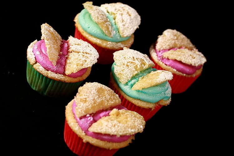 Easy Butterfly Cupcakes