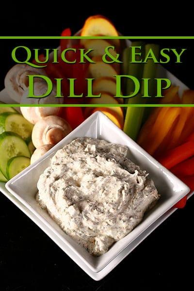 My Dill Dip Recipe