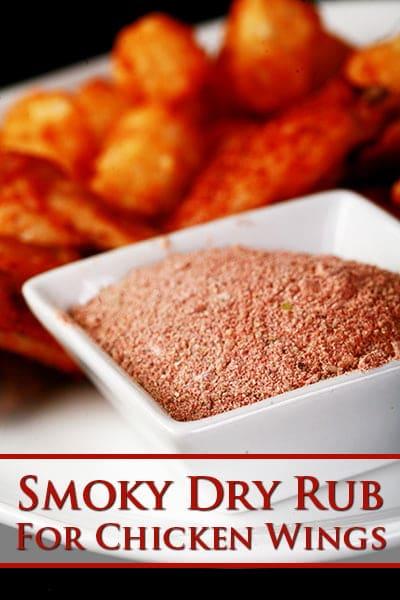 Smoky Dry Rub for Wings & Ribs
