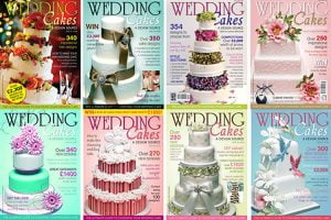 "Image of 8 ""Wedding Cake"" magazine covers"