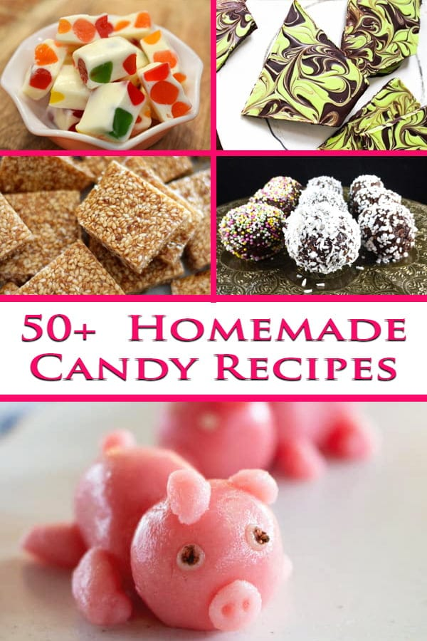 9+ Fun Homemade Candy Recipes! - Celebration Generation